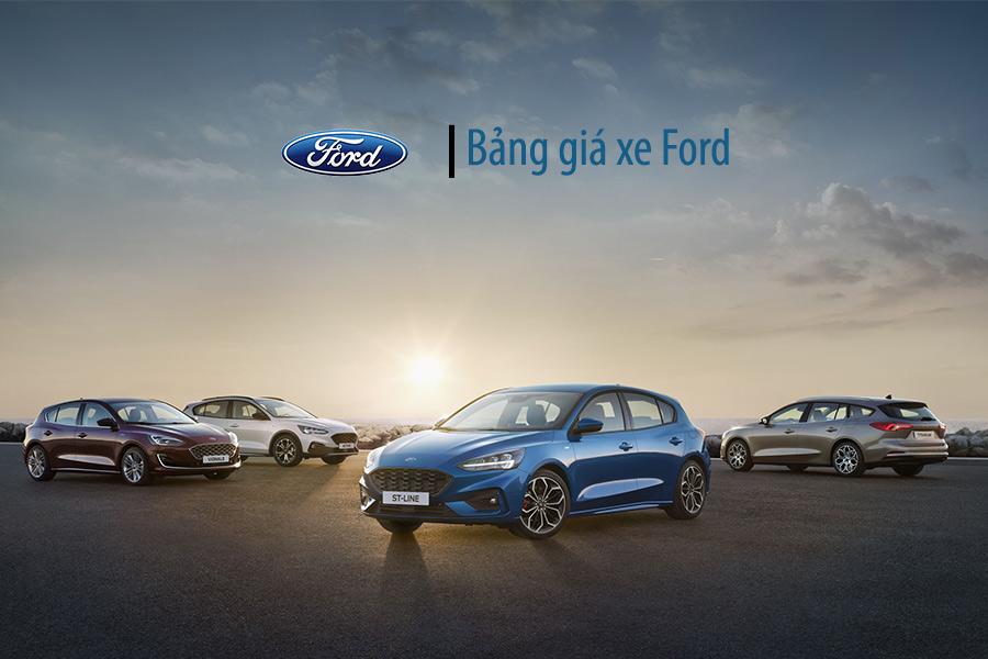 Bảng giá xe Ford An Giang