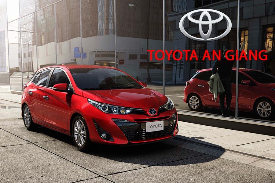 Bảng giá xe Toyota An Giang