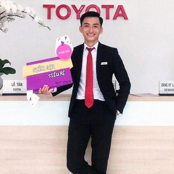 Chuyên viên tư vấn - Hỗ trợ mua xe trả góp Toyota An Giang. Số điện thoại: 0969.448.214.