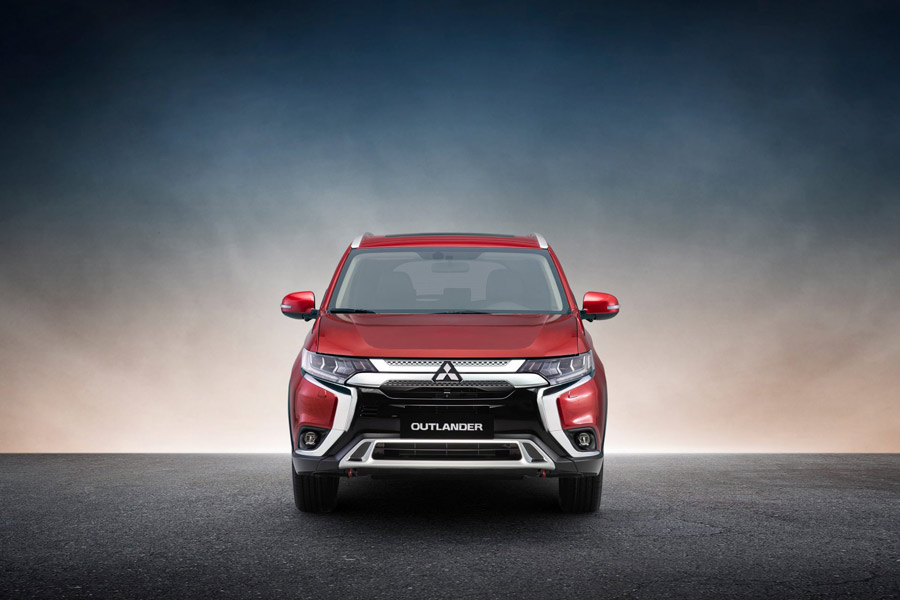 Ngoại thất Mitsubishi Outlander 2020