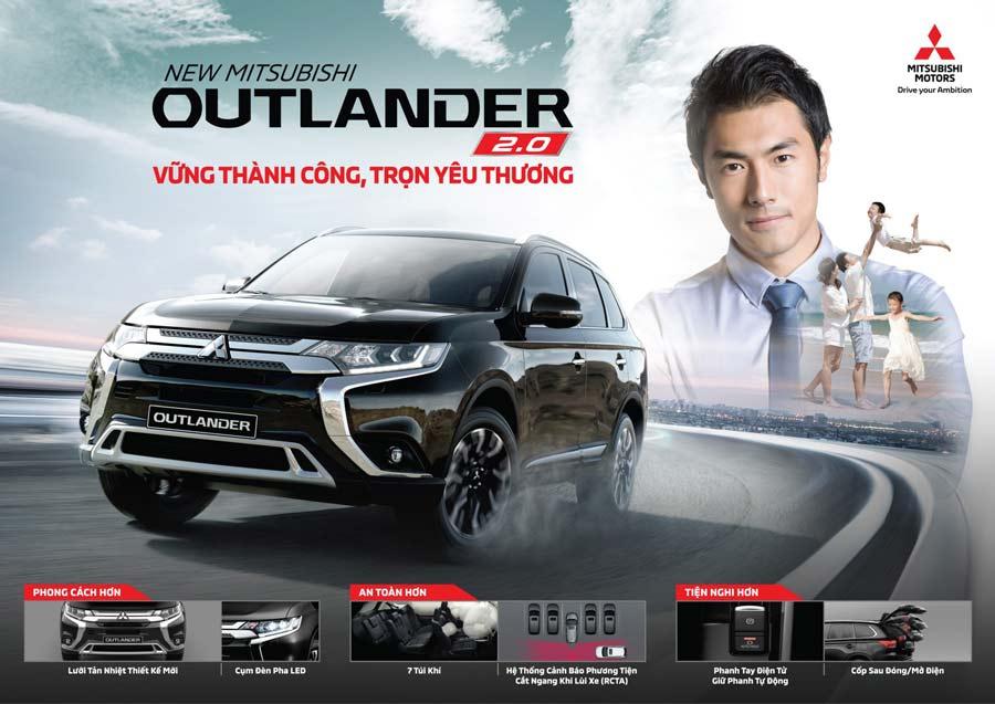 New Mitsubishi Outlander 2.0 - Vững thành công, trọn yêu thương