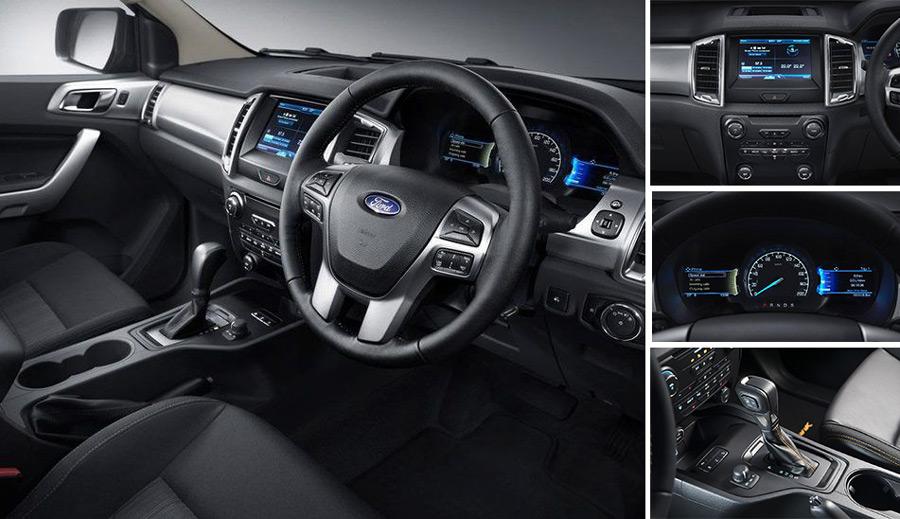 Hình ảnh nội thất xe Ford Ranger