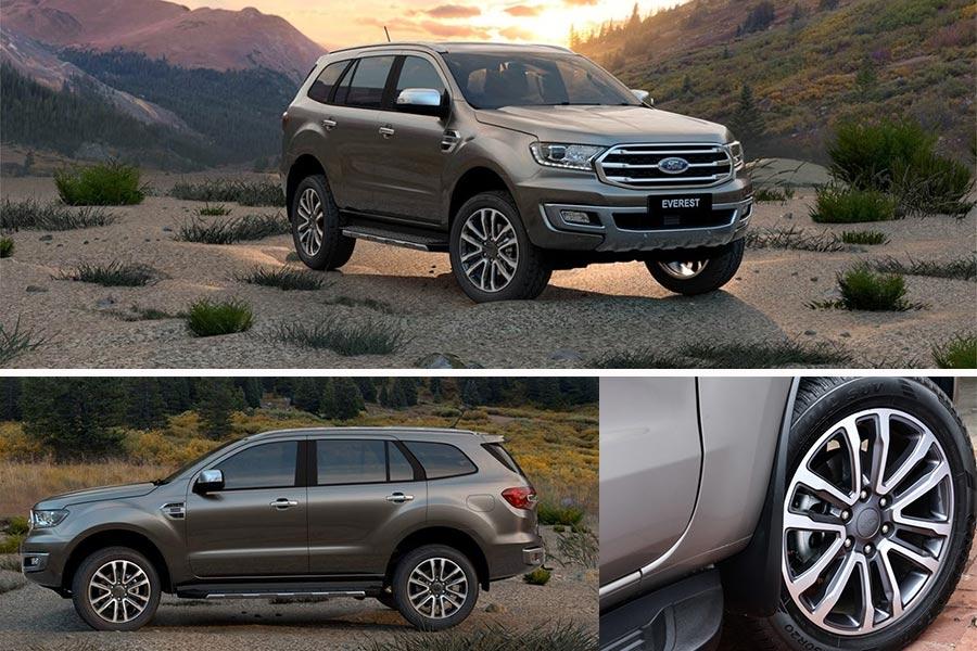 Hình ảnh thân xe Ford Everest