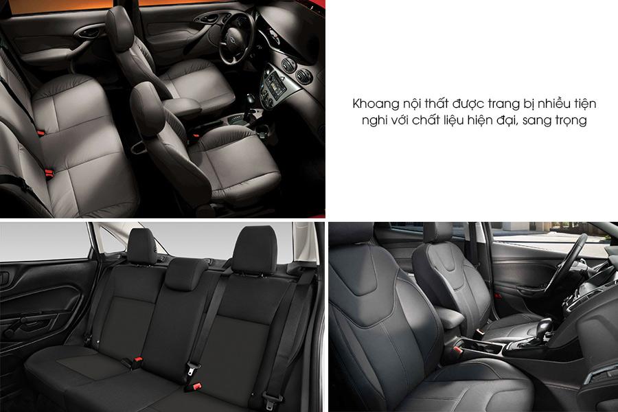 Hàng ghế trước có thể điều chỉnh 6 hướng để người sử dụng chọn được tư thế ngồi phù hợp, khoảng để chân, khoảng không trần xe vừa đủ cho cả hai hàng ghế