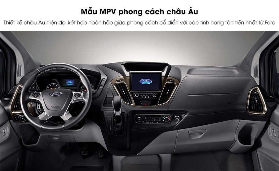 Nội thất Ford Tourneo