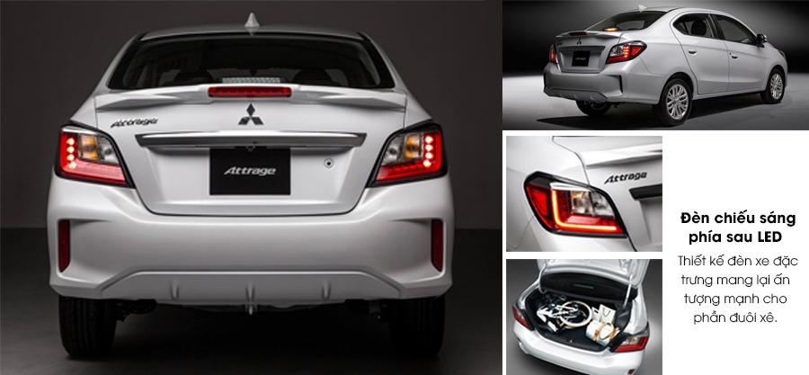 Hình ảnh đuôi xe Mitsubishi Attrage