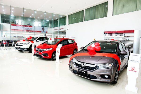 Bảng giá xe Honda ô tô An Giang